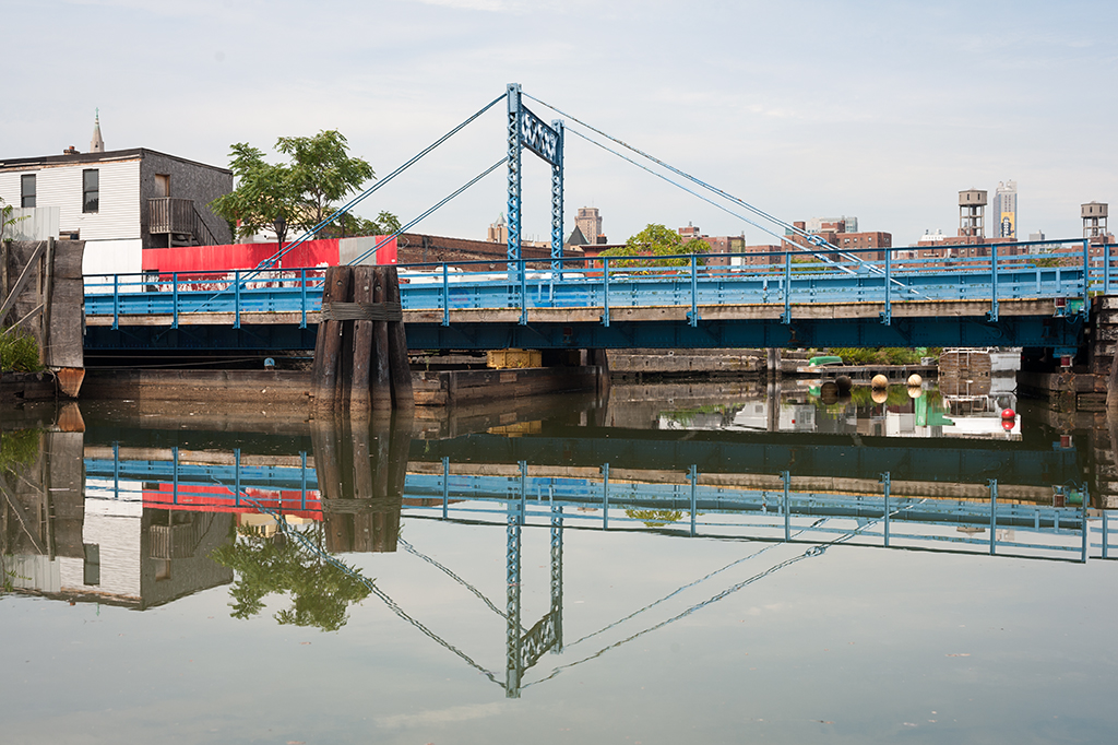 Carroll Street Bridge and the Gowanus Canal