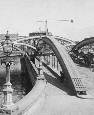 The Harlem Bridge, opened 1868 (Source: New York Public Library)