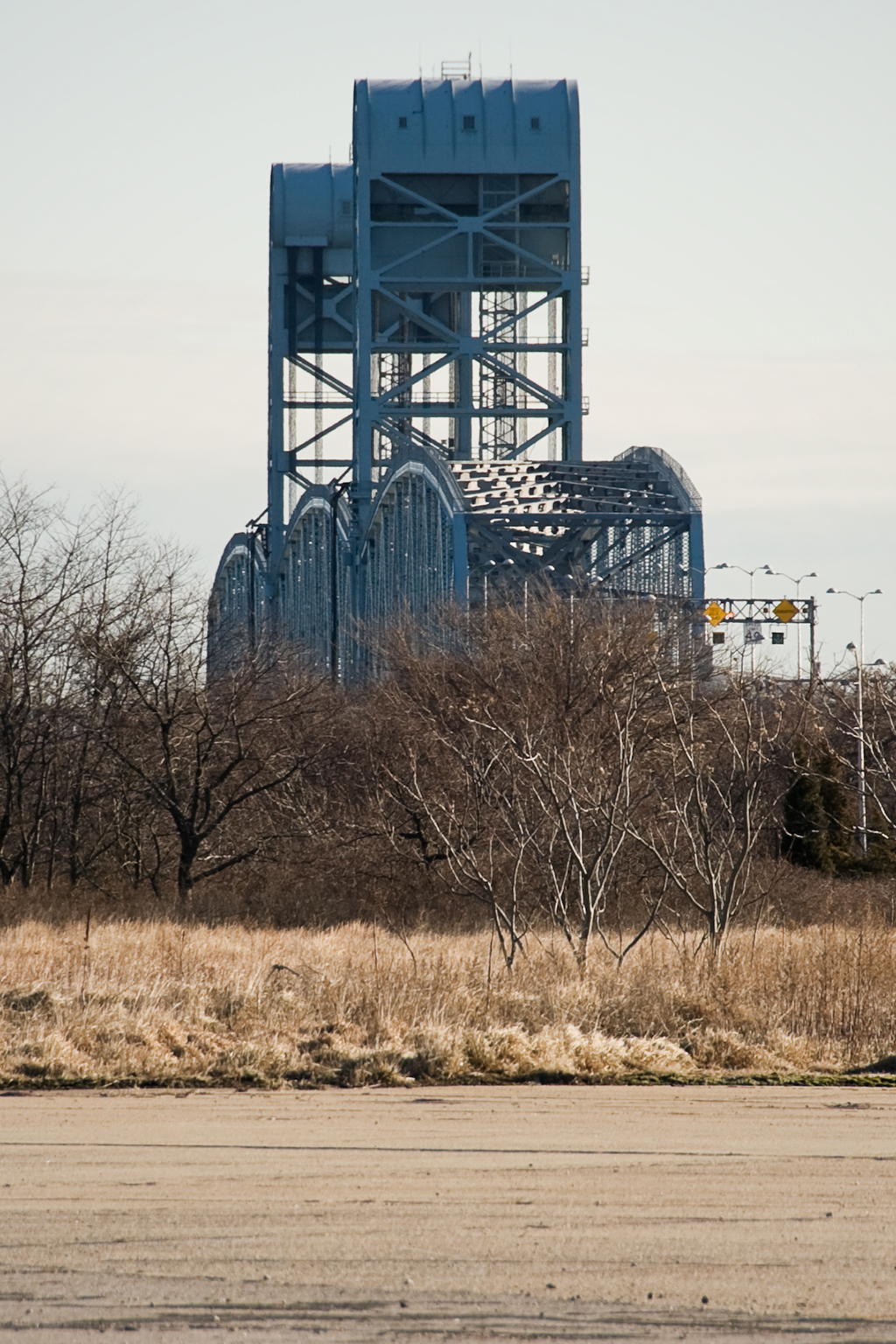 Marine Parkway Bridge, seen from Floyd Bennett Field