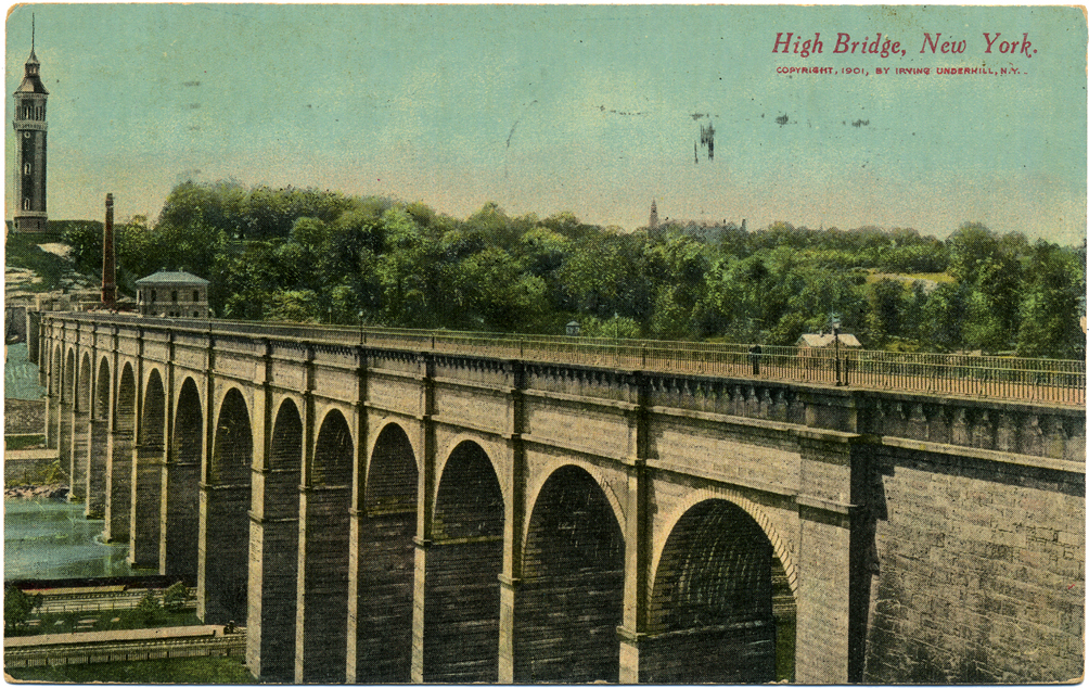 High Bridge as originally constructed, ca.1900s