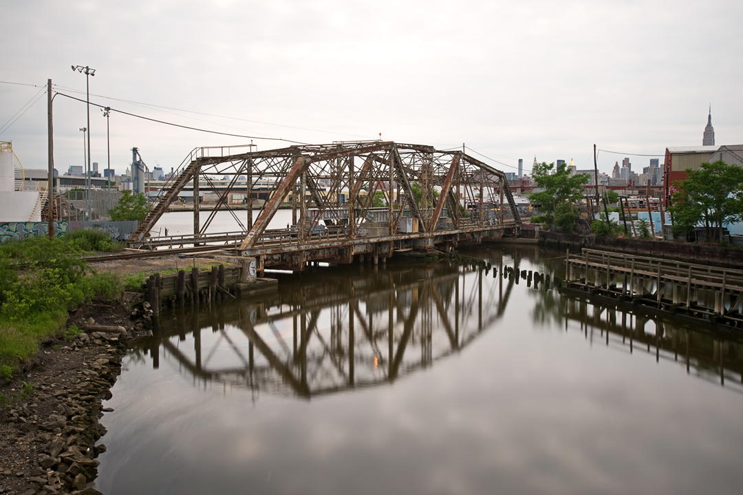 Dutch Kills Swing Bridge, 2011