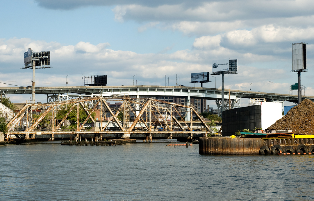 Dutch Kills Swing Bridge and Newtown Creek, 2007